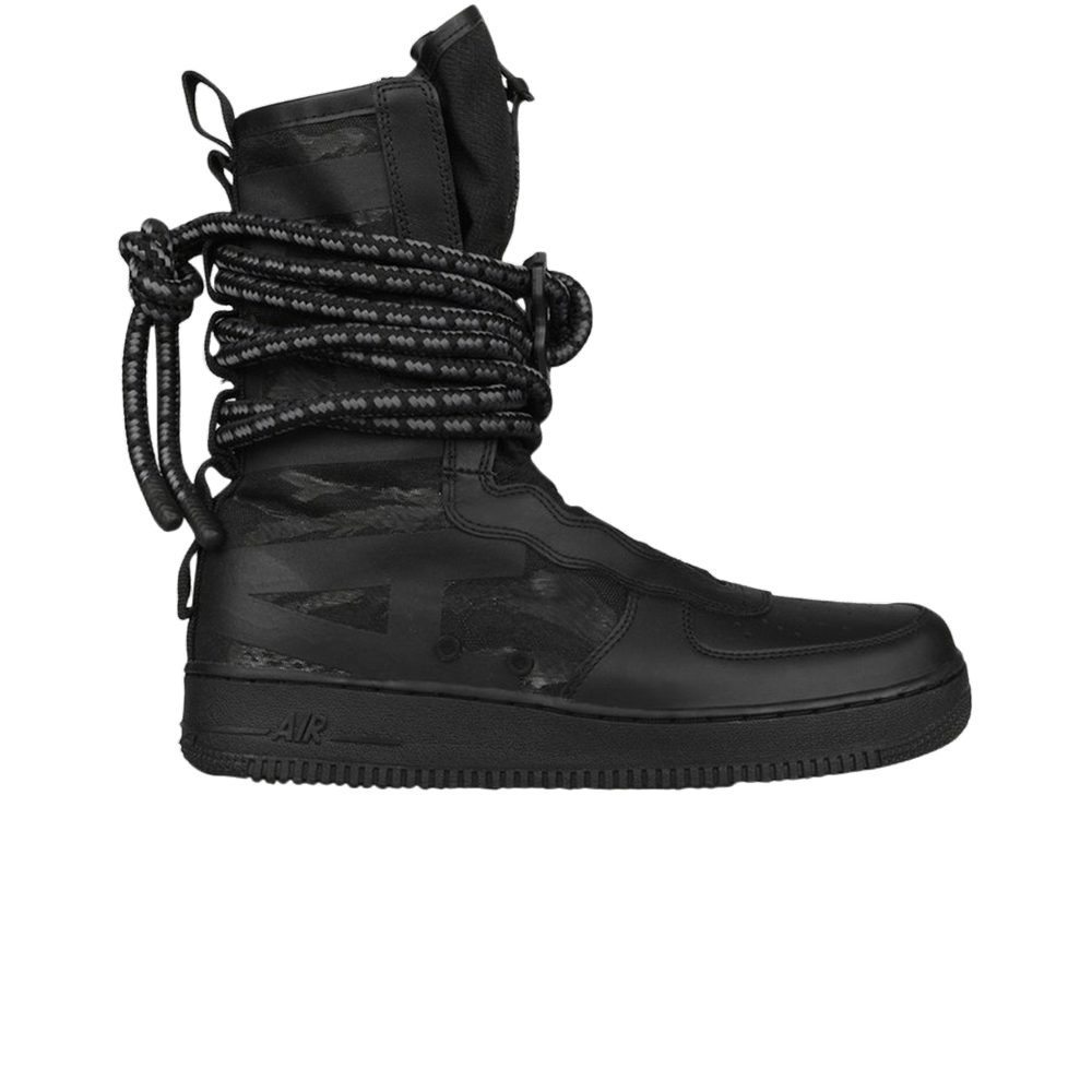 low priced d7cfc a5405 SF Air Force 1 High 'Black' - Nike - AA1128 002 | GOAT