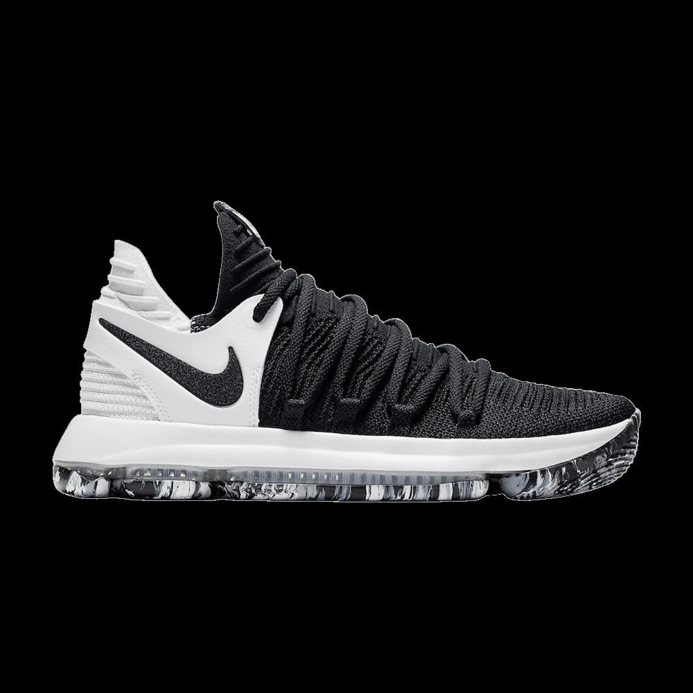 best sneakers 68436 e5e8e KD 10  Black White  - Nike - 897815 008   GOAT