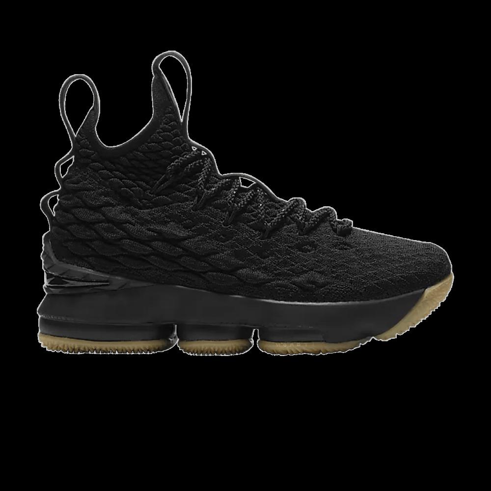 b7808194ea6 LeBron 15 GS  Black Gum  - Nike - 922811 001