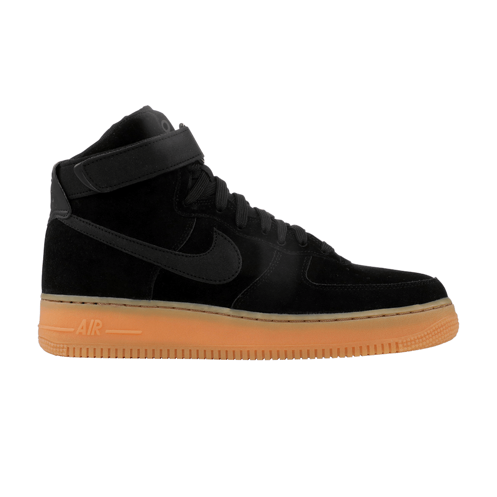 buy online 5f1c2 e7554 Air Force 1 High 07 LV8 Suede  Black Gum  - Nike - AA1118 001   GOAT