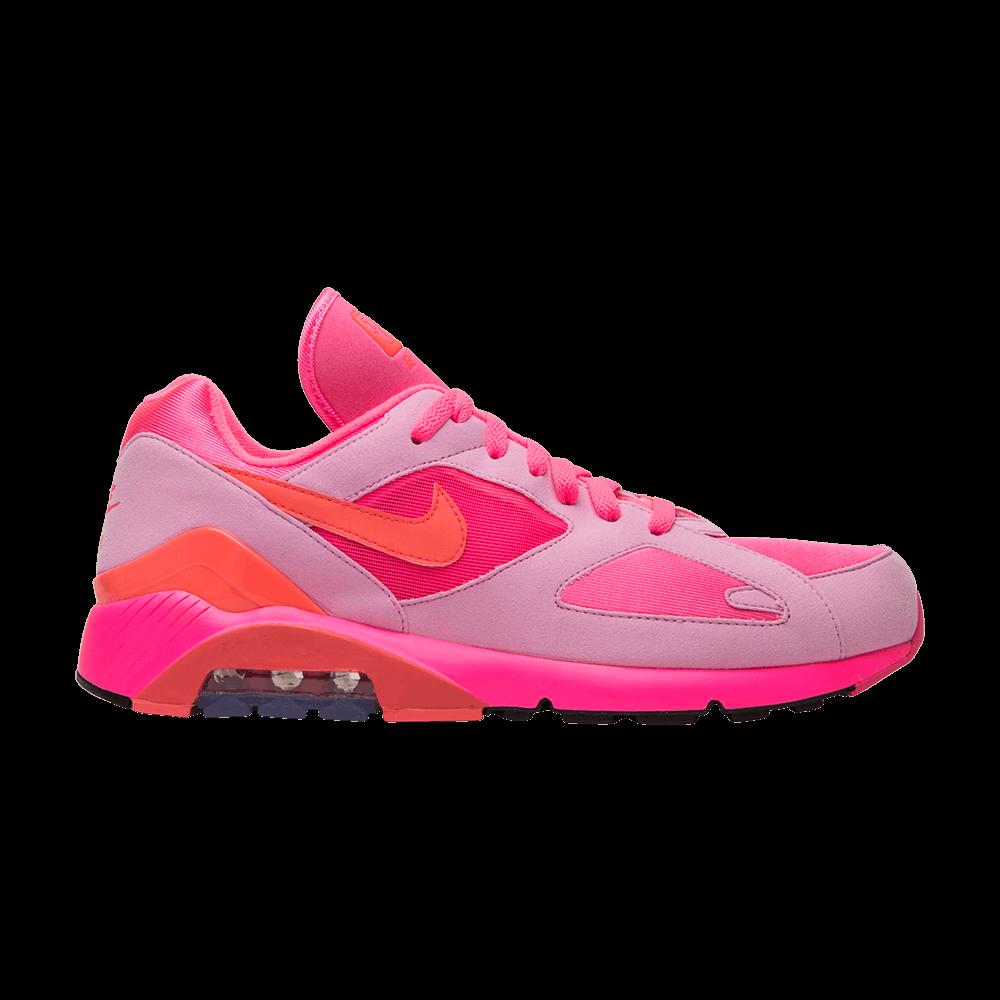Comme des Garçons x Air Max 180  Triple Pink  - Nike - AO4641 602  241061eac39c