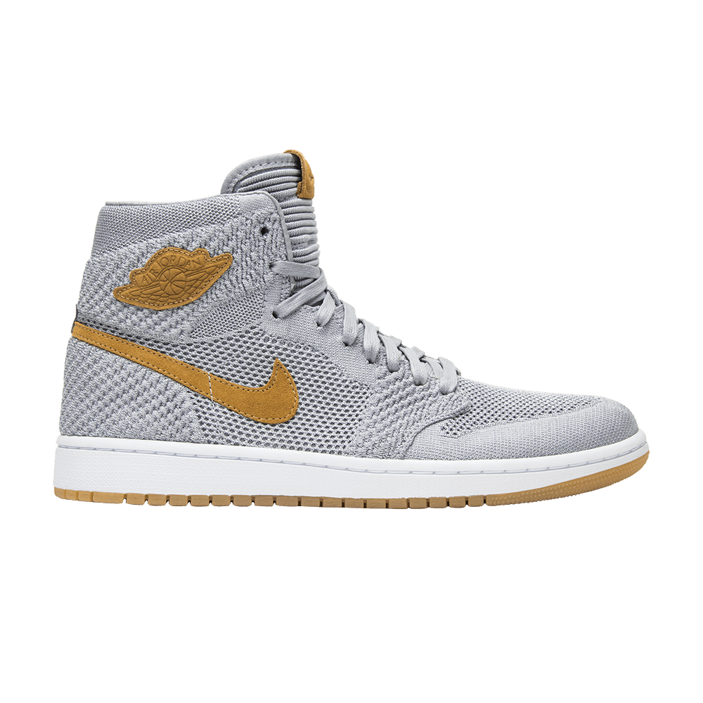 c031963d4e904 Air Jordan 1 Retro High OG Flyknit  Wolf Grey  - Air Jordan - 919704 025