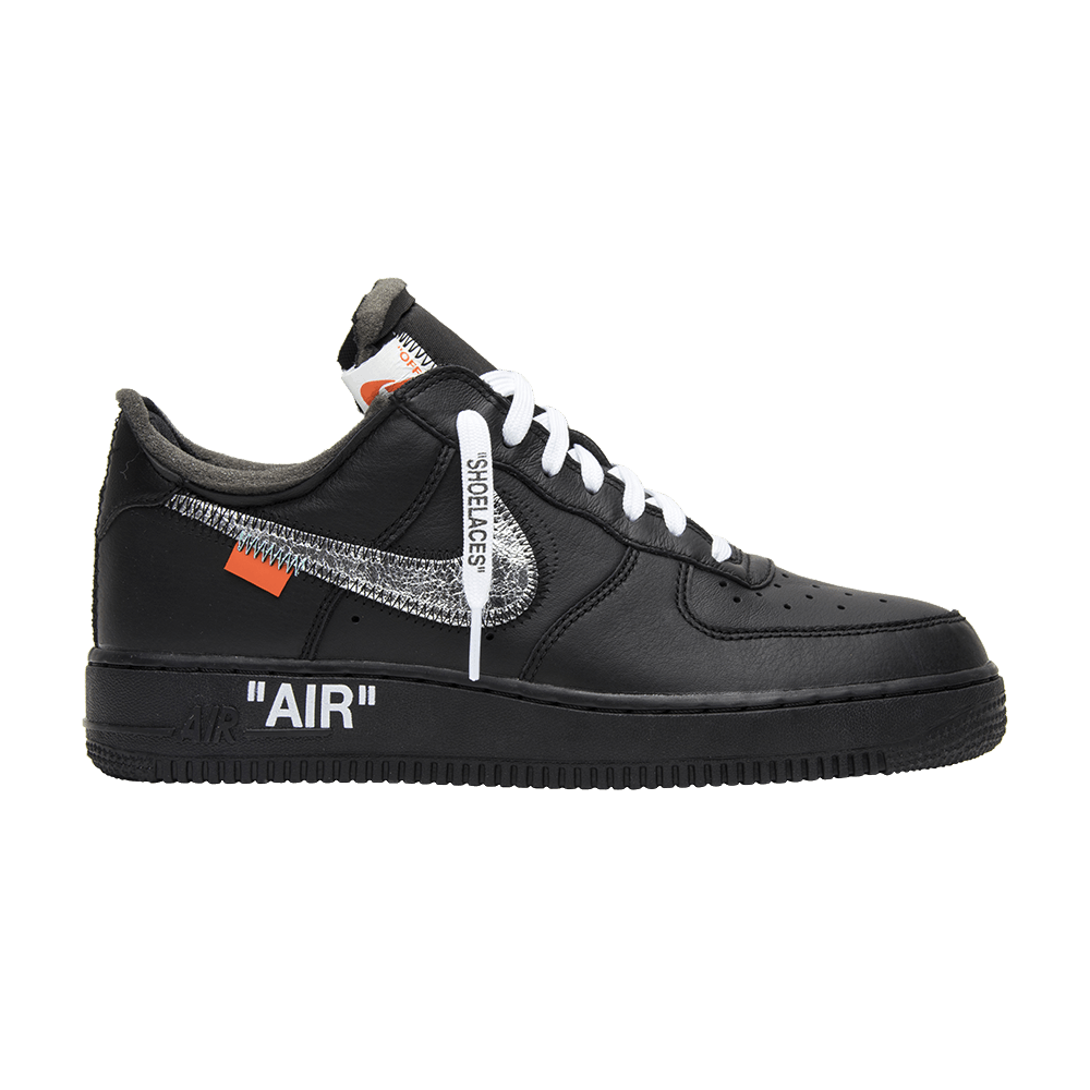 04e7526f2b OFF-WHITE x MoMA x Air Force 1 07  Black  - Nike - AV5210 001