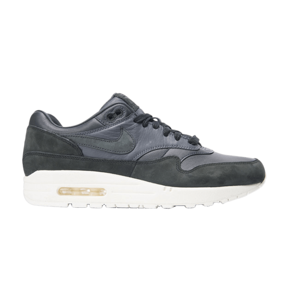 NikeLab Air Max 1 Pinnacle  Black Anthracite  - Nike - 859554 004  b178d1a47