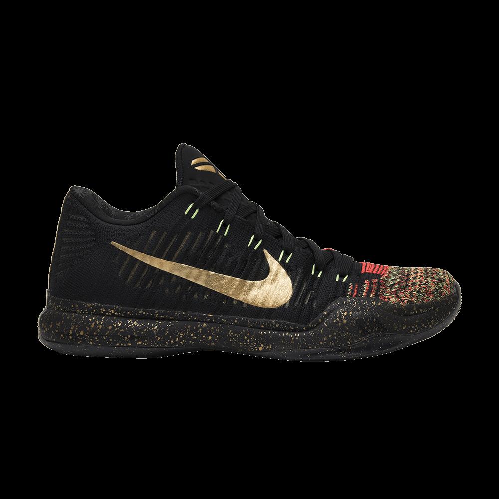 5b053a0ade8f Kobe 10 Elite Low  Christmas  - Nike - 802560 076