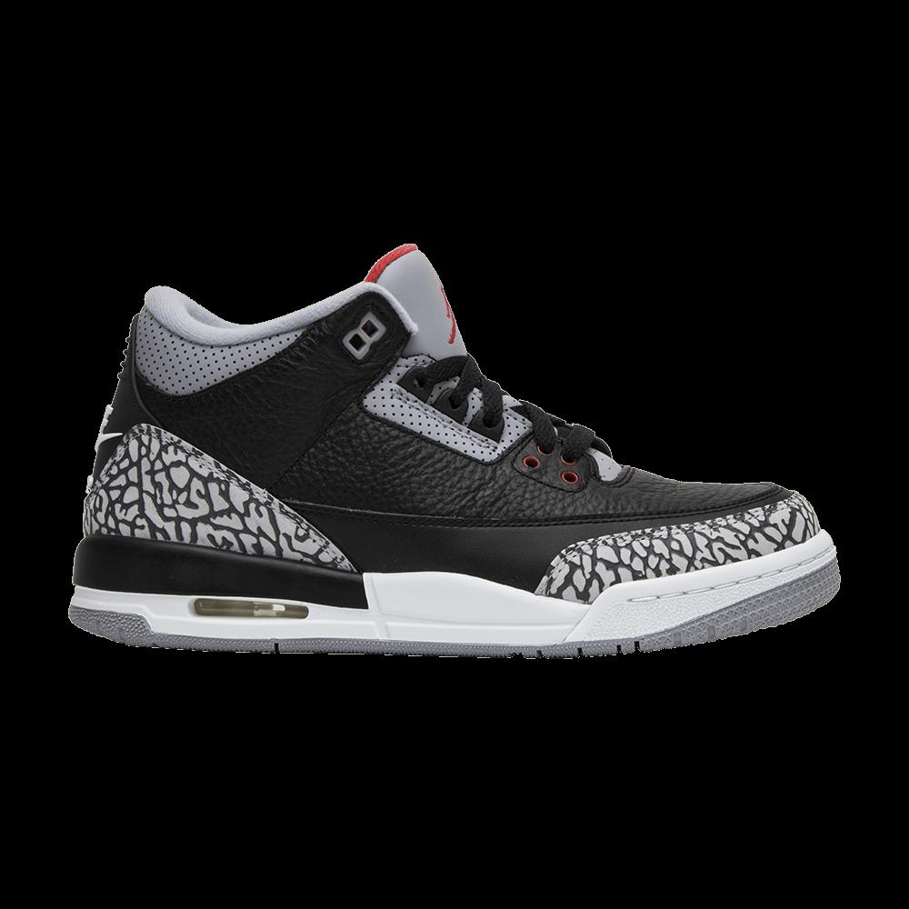 ec47339094b5 Air Jordan 3 Retro OG BG  Black Cement  2018 - Air Jordan - 854261 001