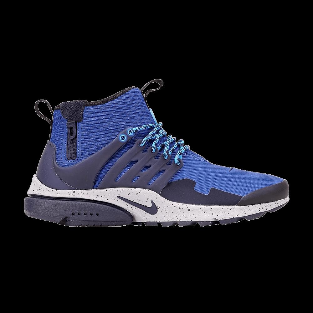 pretty nice e9220 0bd89 Air Presto Mid Utility  Gym Blue  - Nike - 859524 401   GOAT