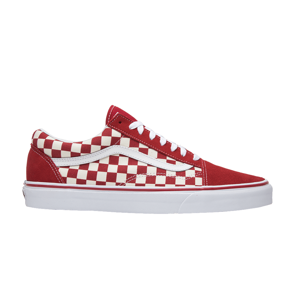6fc0251e65 Old Skool  Red Checkerboard  - Vans - VN0A38G1P0T