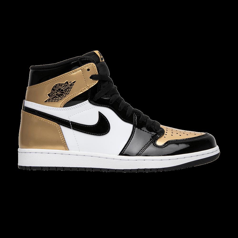 4dedb3dc3d2a Air Jordan 1 Retro High OG NRG  Gold Toe  - Air Jordan - 861428 007 ...