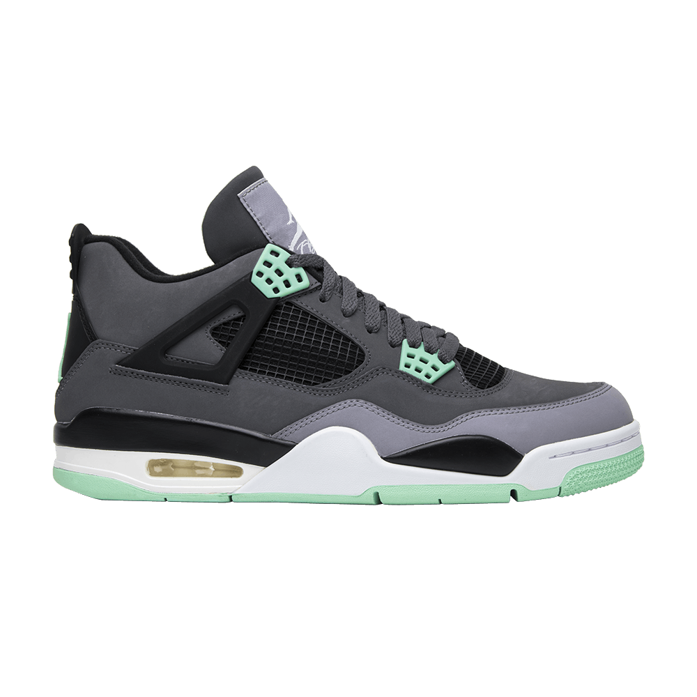 check out 4c91c 68f81 Air Jordan 4 Retro  Green Glow  - Air Jordan - 308497 033   GOAT