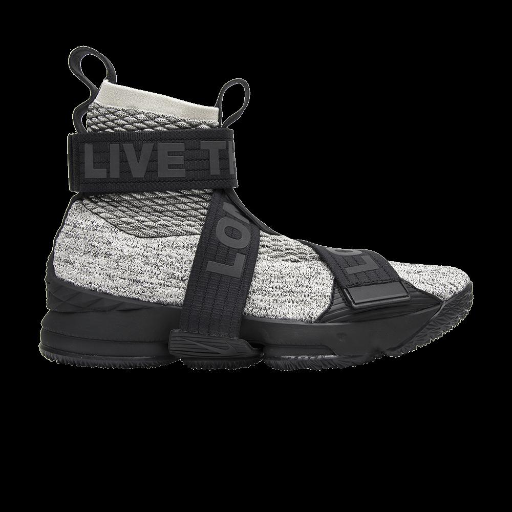 a2a81f0ff75 Kith x LeBron Lifestyle 15  Concrete  - Nike - AO1068 100