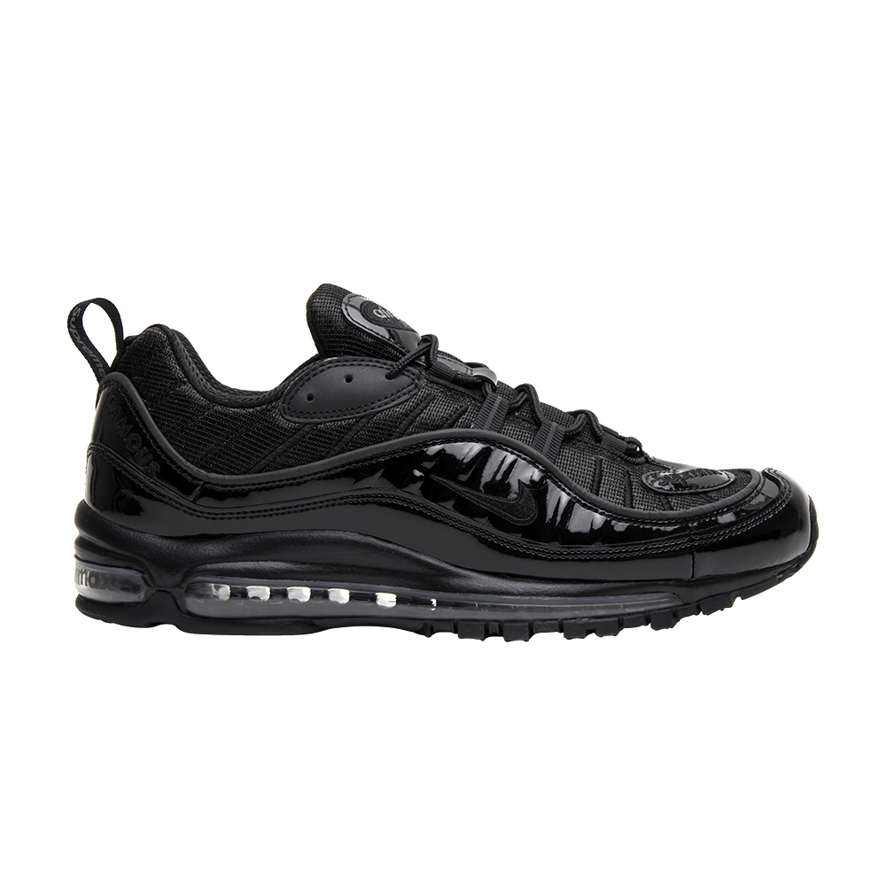 huge discount fa96b 6b174 Supreme x Air Max 98 'Black'