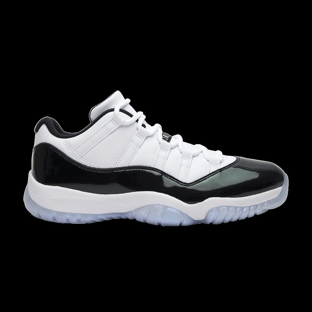 sports shoes a6d45 d9773 Air Jordan 11 Retro Low  Emerald  - Air Jordan - 528895 145   GOAT