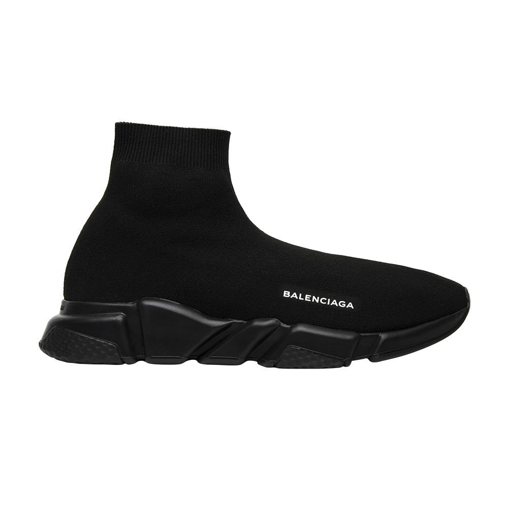 53970cf6391a Balenciaga Speed Trainer Mid  Triple Black  - Balenciaga - 485625W05G01000