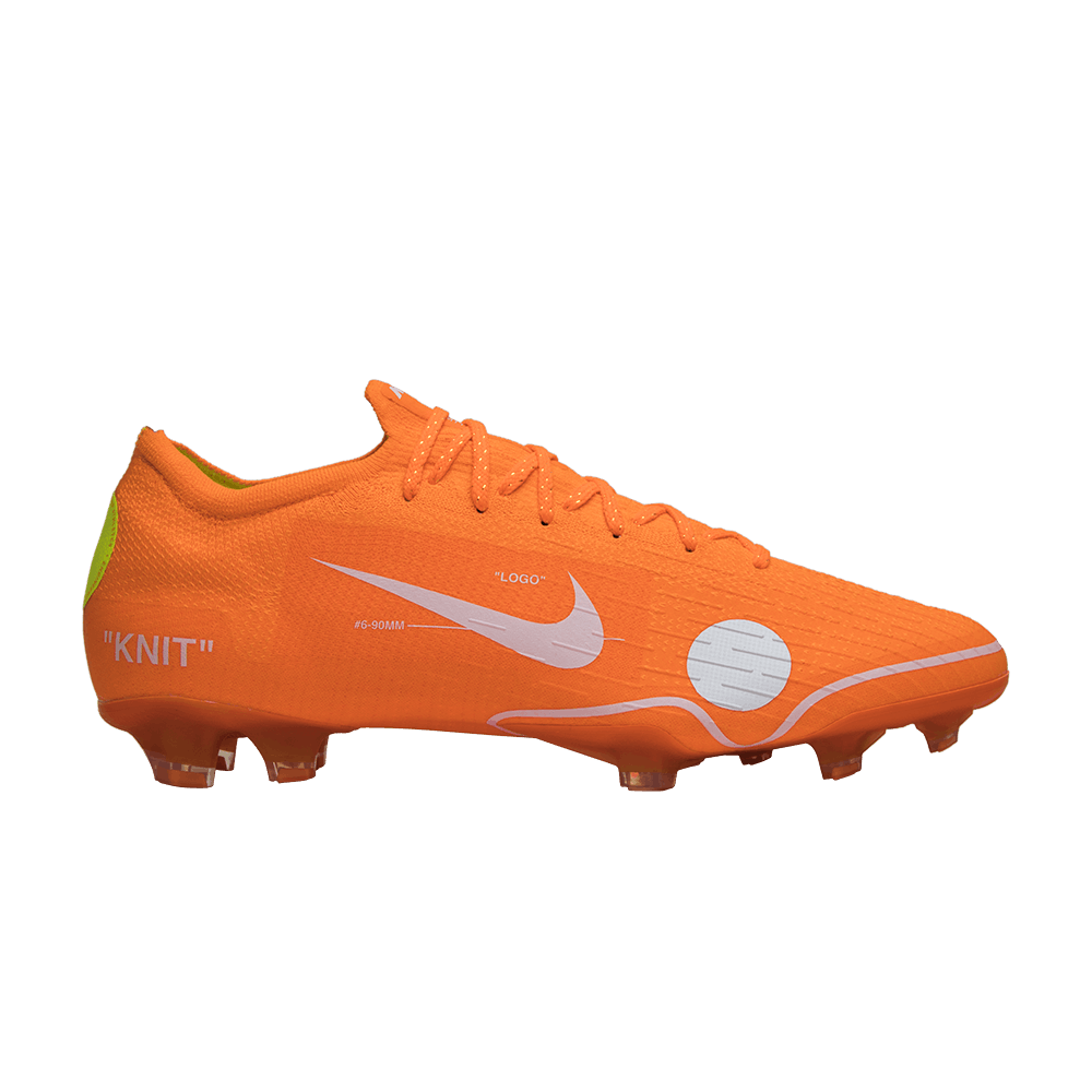 the latest 0ebd4 0cf1d OFF-WHITE x Mercurial Vapor 360 'Orange' - Nike - AO1256 810 | GOAT