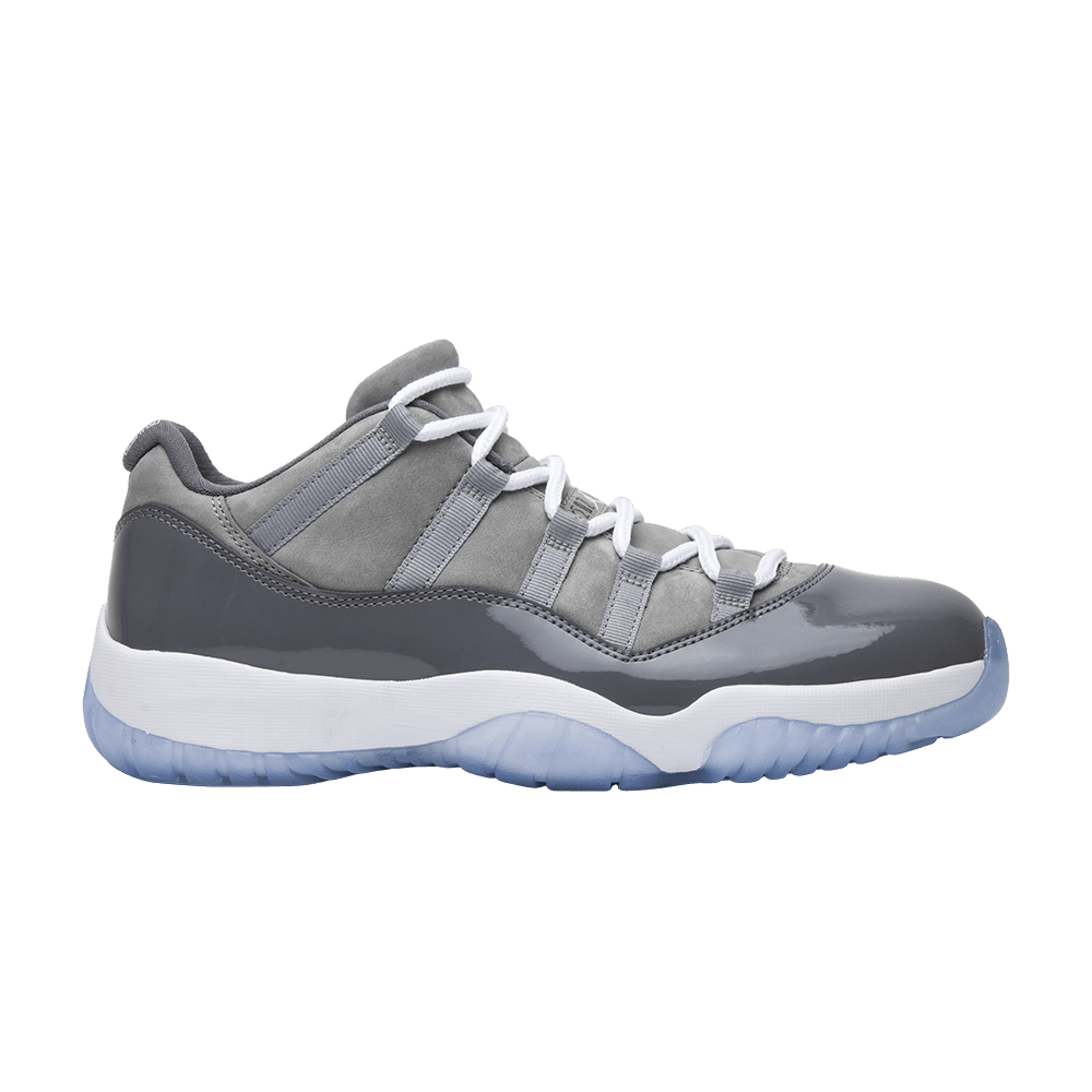 71984b46fcf04 Air Jordan 11 Retro Low  Cool Grey  - Air Jordan - 528895 003