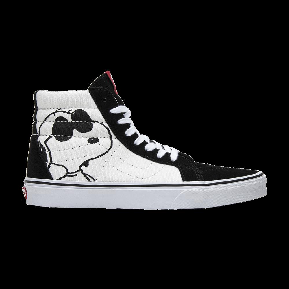 vans x peanuts joe cool sk8-hi reissue shoes
