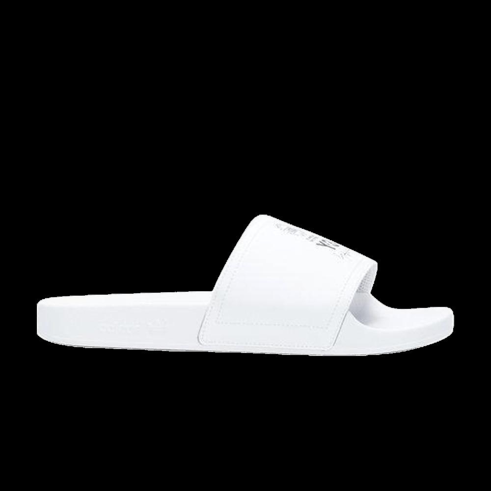 d8a1640c8981 Y-3 Adilette Slide  White  - adidas - AC7524