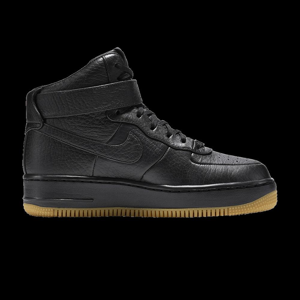 Nike Womens Air Force 1 Upstep Hi Pinnacle Black 857665 001