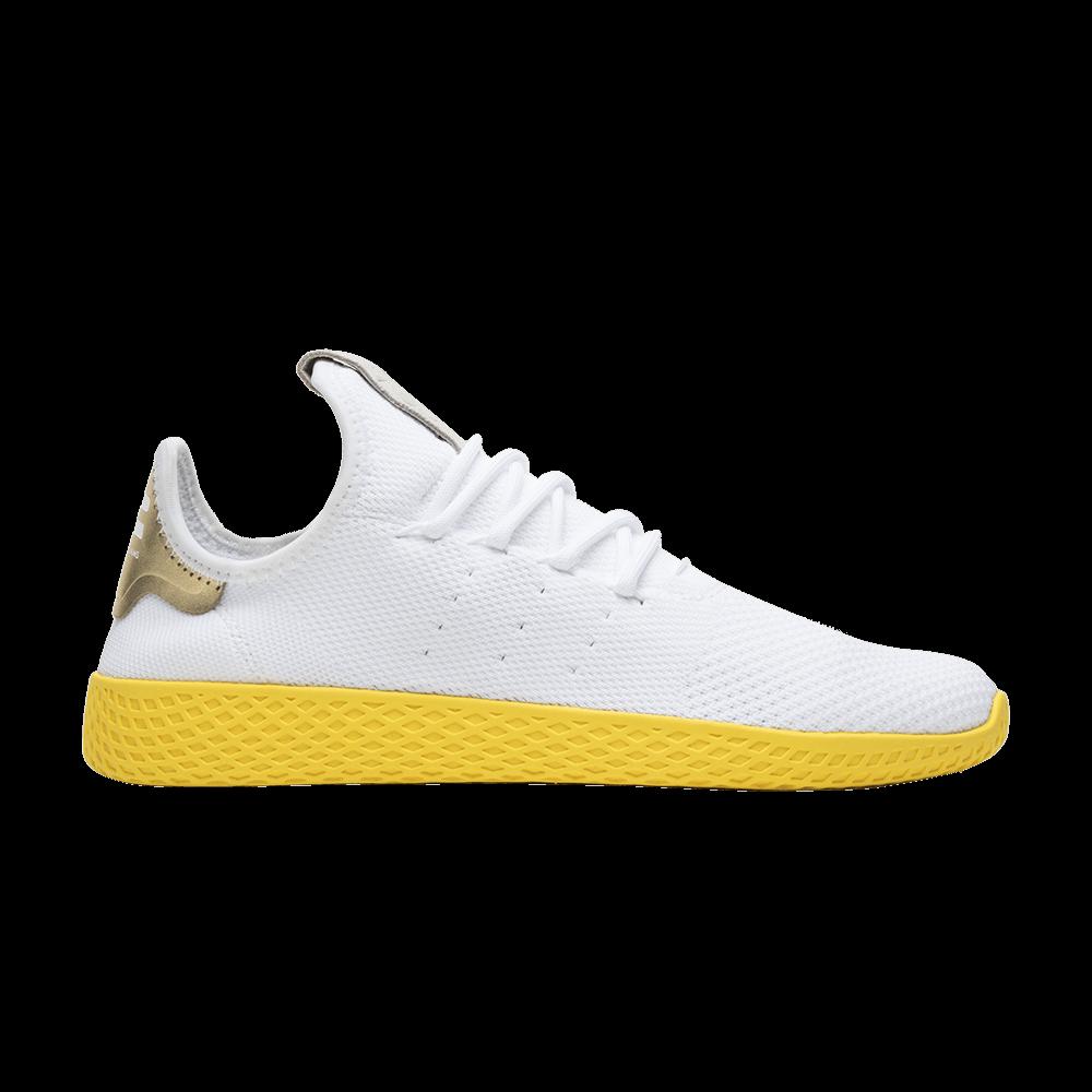 Pharrell x Tennis Hu  Yellow  - adidas - BY2674  c2fdd61b8