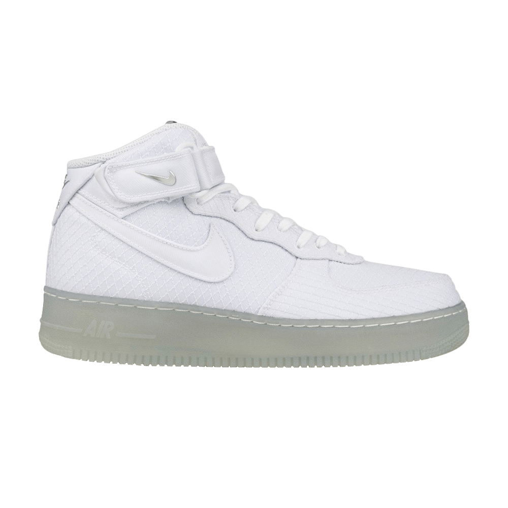 Air Force 1  07 Mid LV8  Metallic Silver  - Nike - 804609 102  b91361bcce