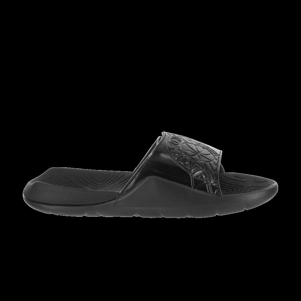 21fd2fe0fb86 Jordan Hydro 7 Slide  Triple Black  - Air Jordan - AA2517 010