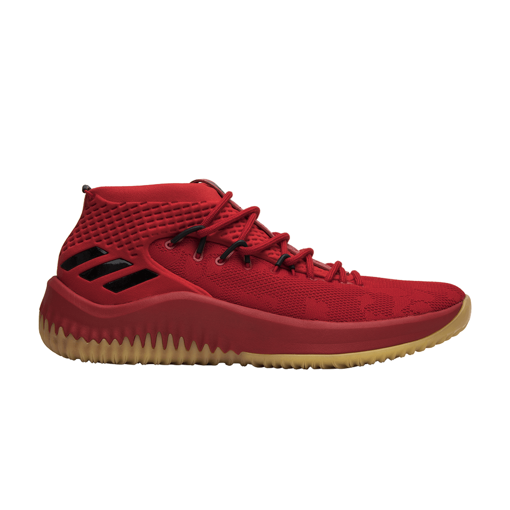 best website 98c11 c968c Dame 4 Red Gum - adidas - CQ0186  GOAT