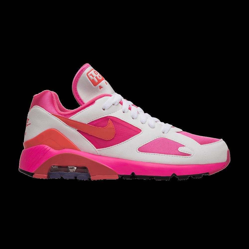 45ba801fd3dd Comme des Garçons x Air Max 180  White Pink  - Nike - AO4641 600