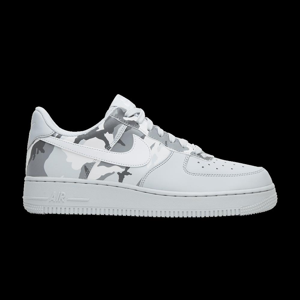super popular 0f1d8 afece Air Force 1  Grey Reflective Camo  - Nike - 823511 009   GOAT