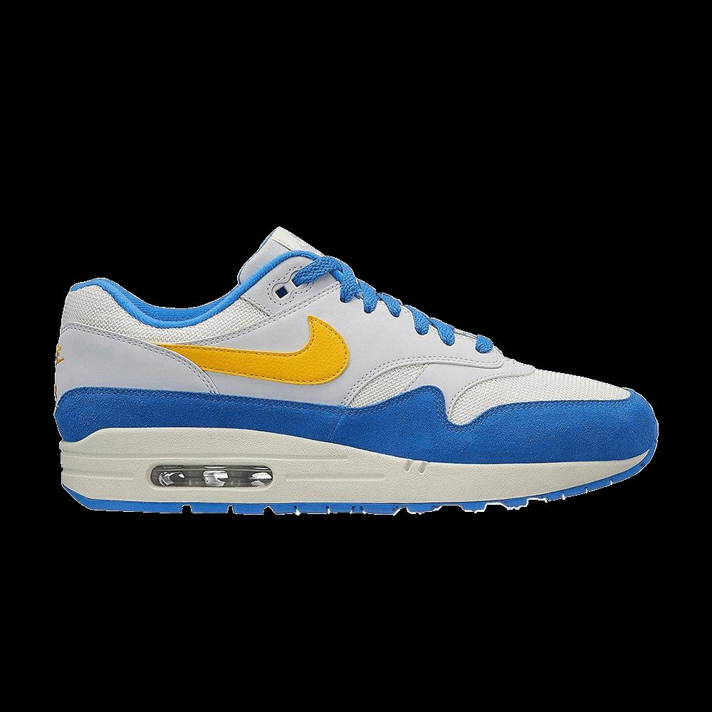 sports shoes 082c7 716fd Air Max 1  Signal Blue  - Nike - AH8145 108   GOAT