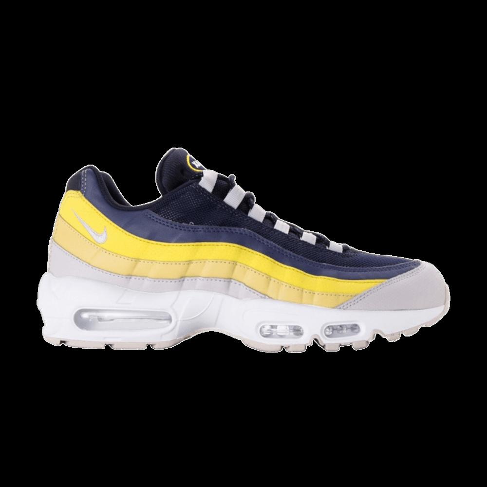 Nike Air Max 95 Lemon Wash White Vast Grey Tour Yellow