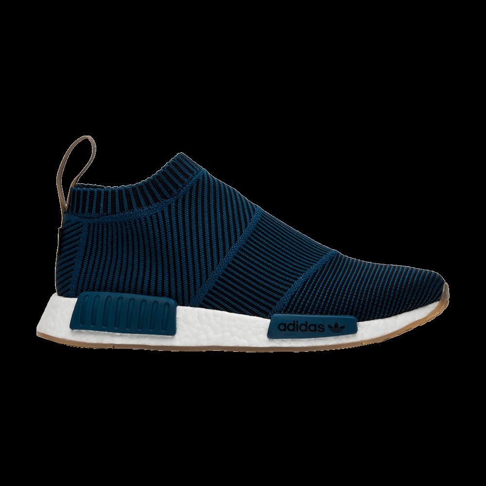 super popular 5a4fe 322b2 Sneakersnstuff x NMDCS1 Primeknit Gore-Tex Blue Night - adidas - AQ0363   GOAT