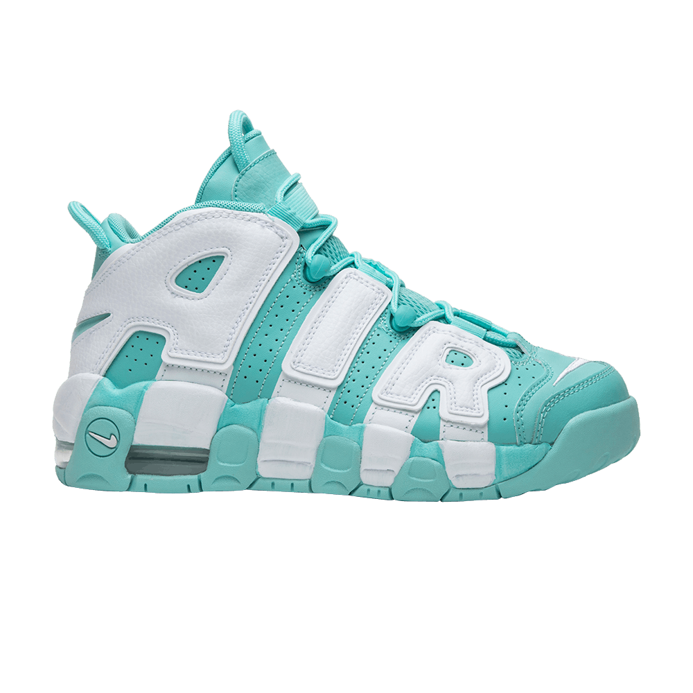 info for f445c fce59 Air More Uptempo GS  Island Green  - Nike - 415082 300   GOAT