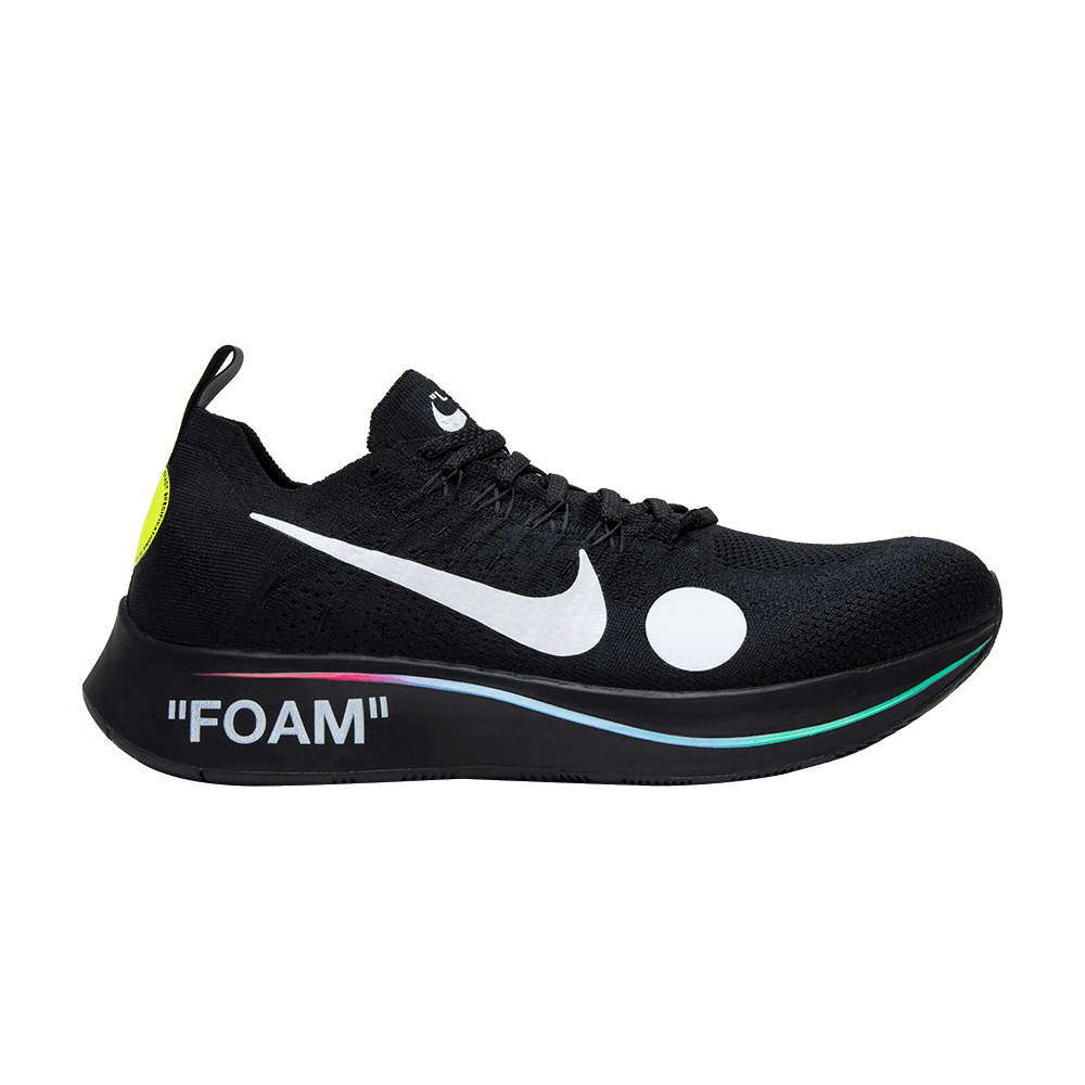 new concept 936d7 39709 OFF-WHITE x Zoom Fly Mercurial Flyknit  Black  - Nike - AO2115 001   GOAT