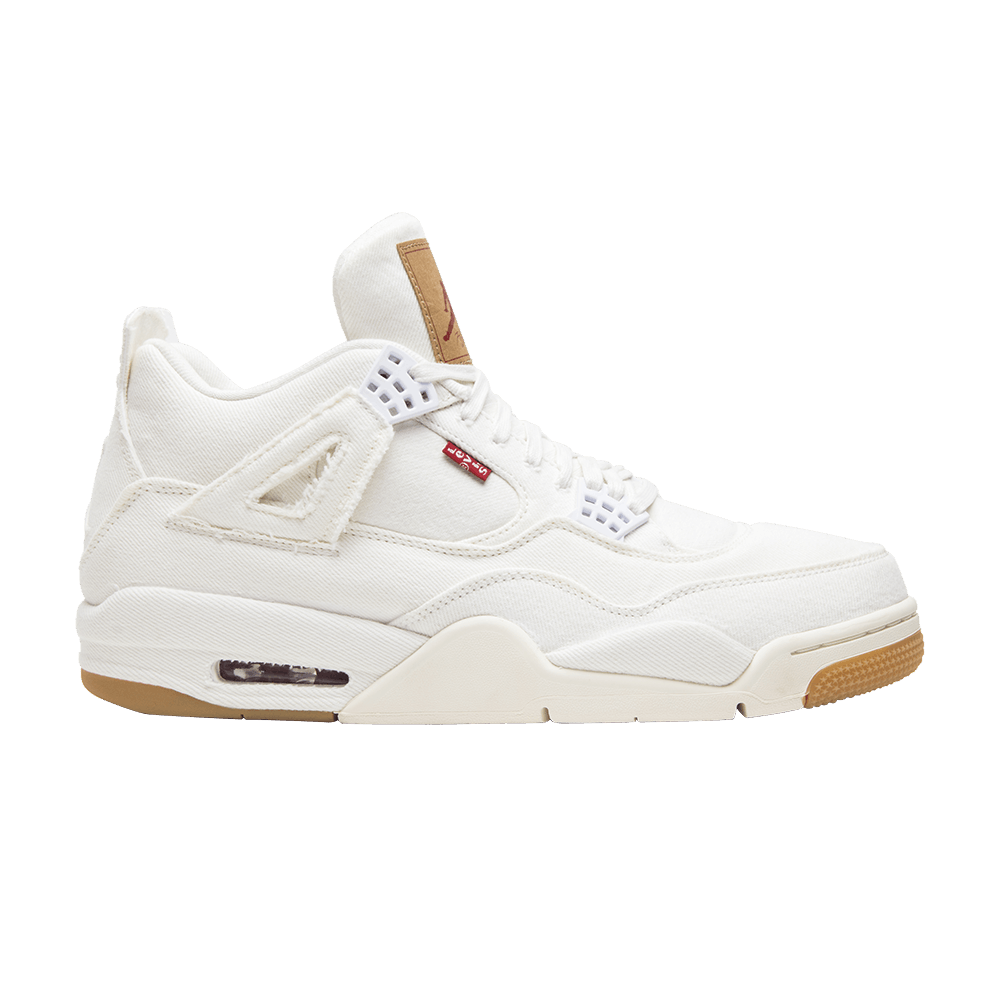 Levi s x Air Jordan 4 Retro  White Denim  - Air Jordan - AO2571 100 ... 3f521c30a154