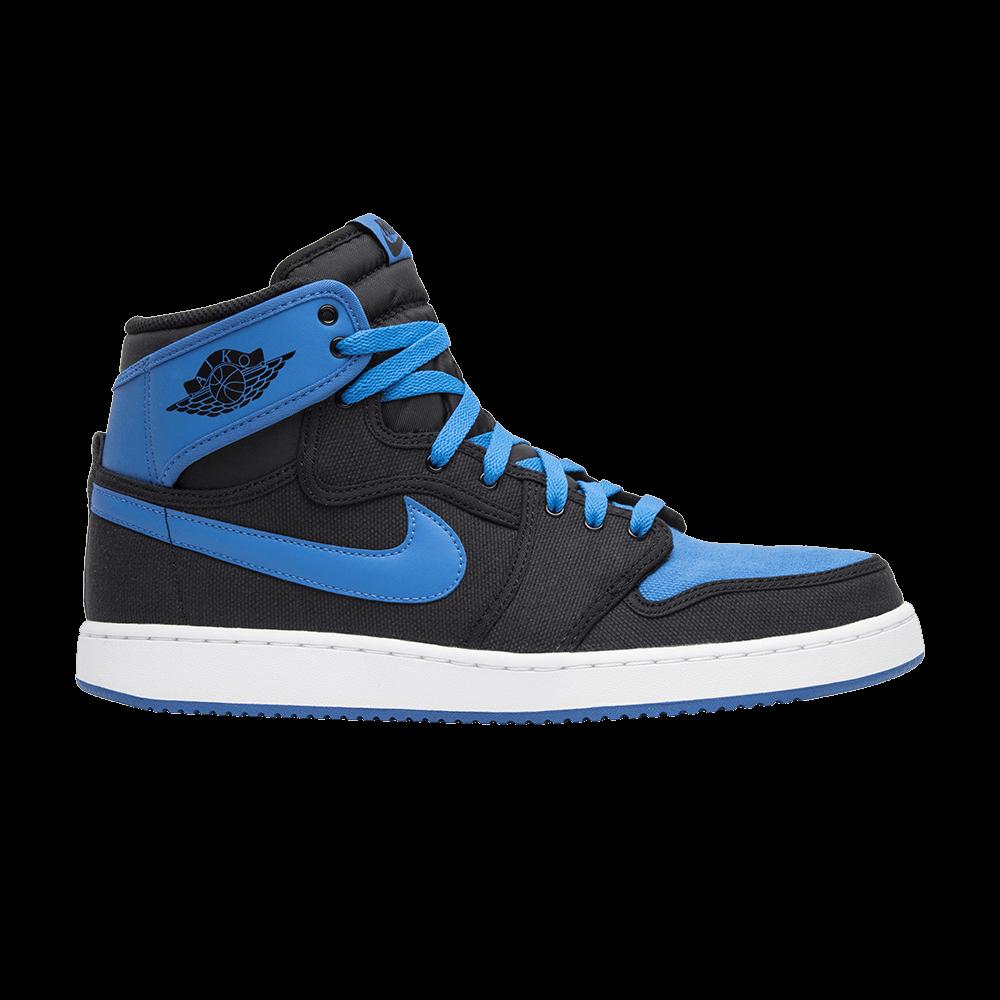 86cdff40449c Air Jordan 1 KO High  Sport Blue  - Air Jordan - 638471 007