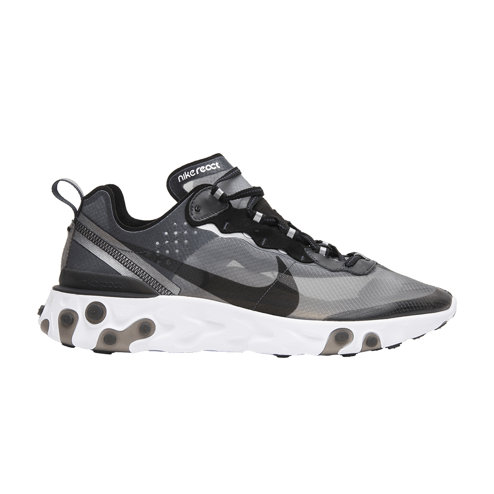 React Element 87  Anthracite  - Nike - AQ1090 001  608d7c9513