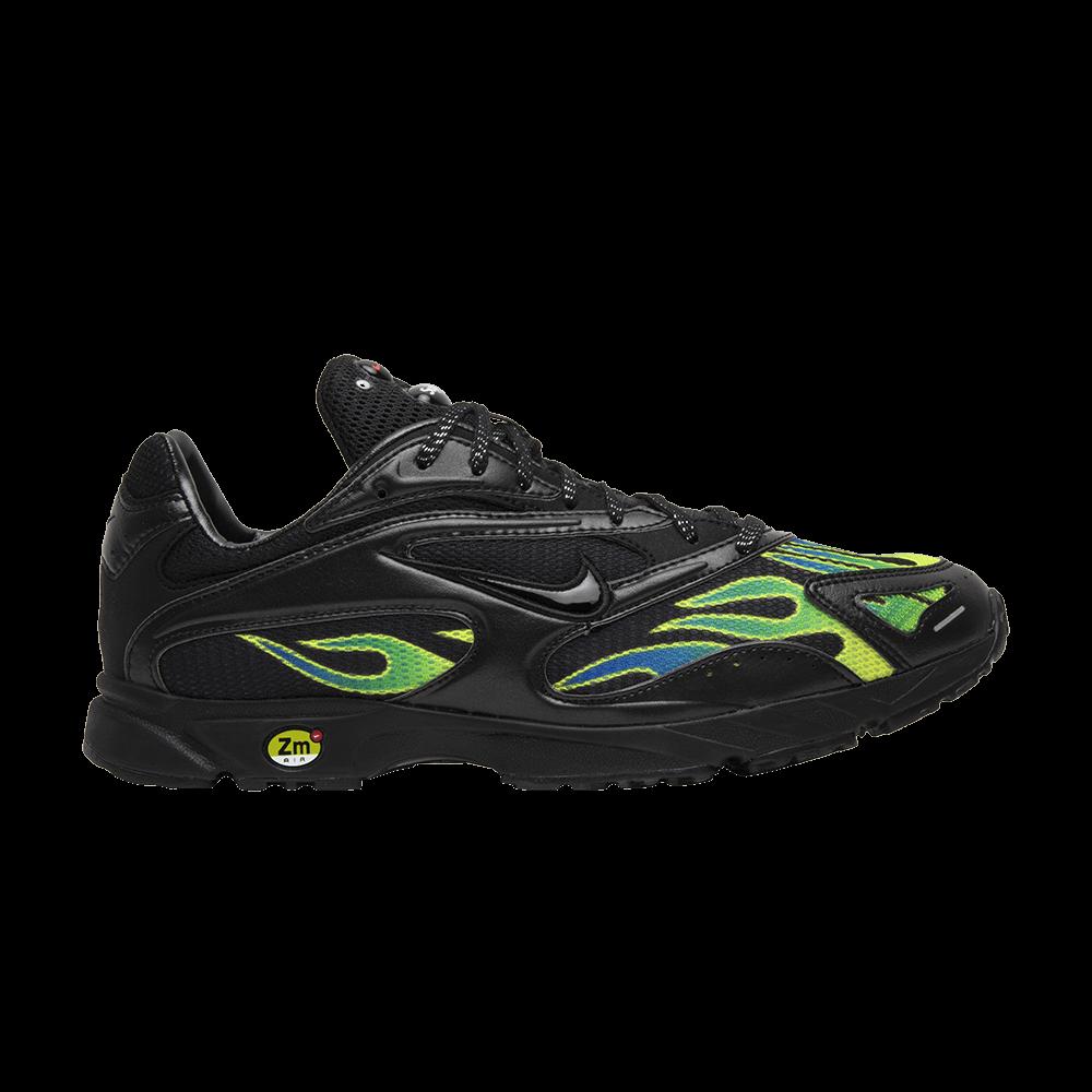6c30d1222b972 Supreme x Zoom Streak Spectrum Plus  Black  - Nike - AQ1279 001