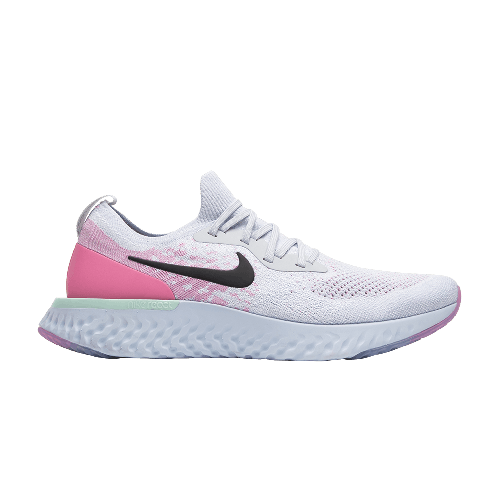 880d7cb76ba3 Epic React Flyknit  Pink Beam  - Nike - AQ0067 007