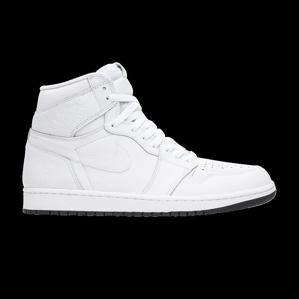 Air Jordan 1 Retro High OG  White Perforated  - Air Jordan - 555088 100  87f4ca043