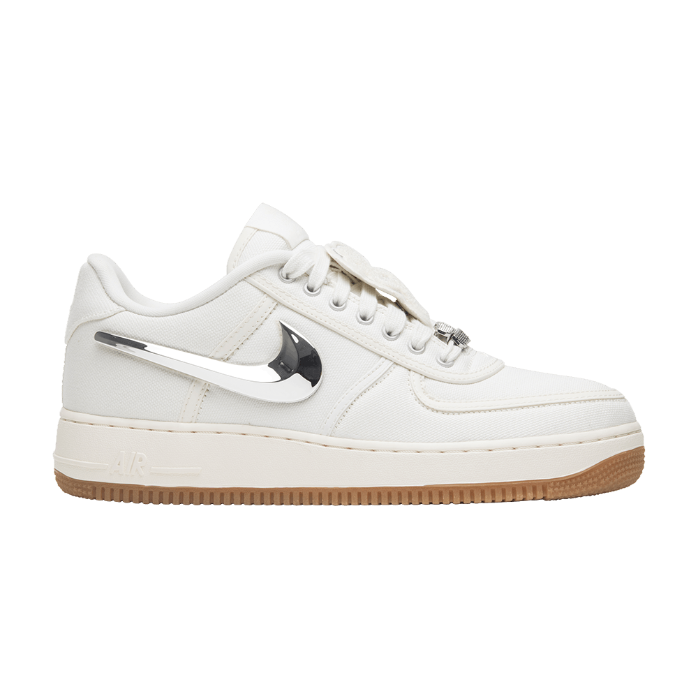 Travis Scott x Air Force 1  Sail  - Nike - AQ4211 101  a9f21f6ba