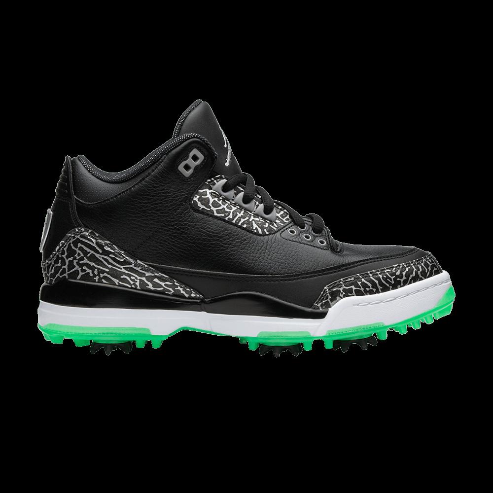 b1a0329ca096b2 Air Jordan 3 Retro Golf  Green Glow  - Air Jordan - AJ3783 001