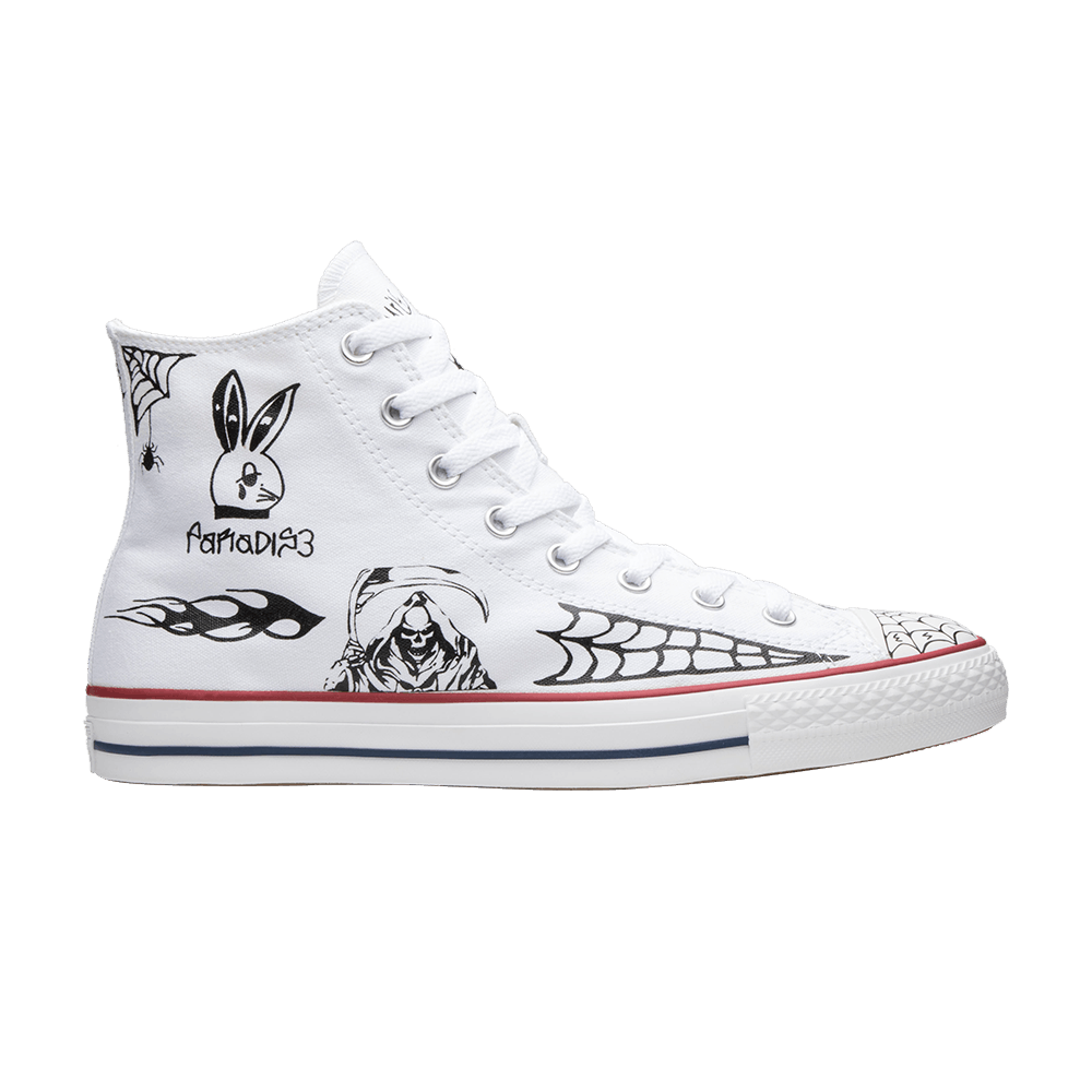 b06ff1048134 Sean Pablo x Chuck Taylor All Star Pro High  White  - Converse - 163040C