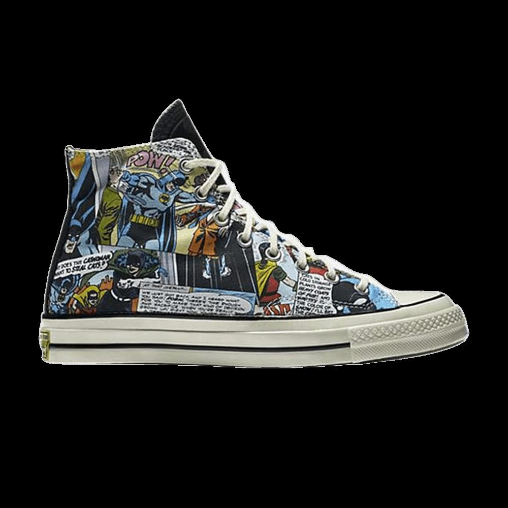 52ef2043442e53 DC Comics x Chuck Taylor All Star 70 High  Batman  - Converse - 155359C