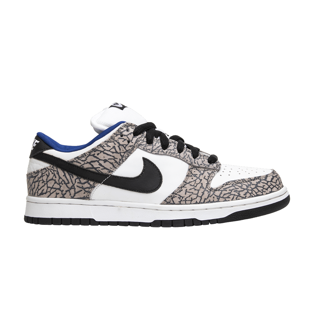 huge selection of c590c 9a2d1 Supreme x Dunk Low Pro SB  White Cement  - Nike - 304292 001   GOAT