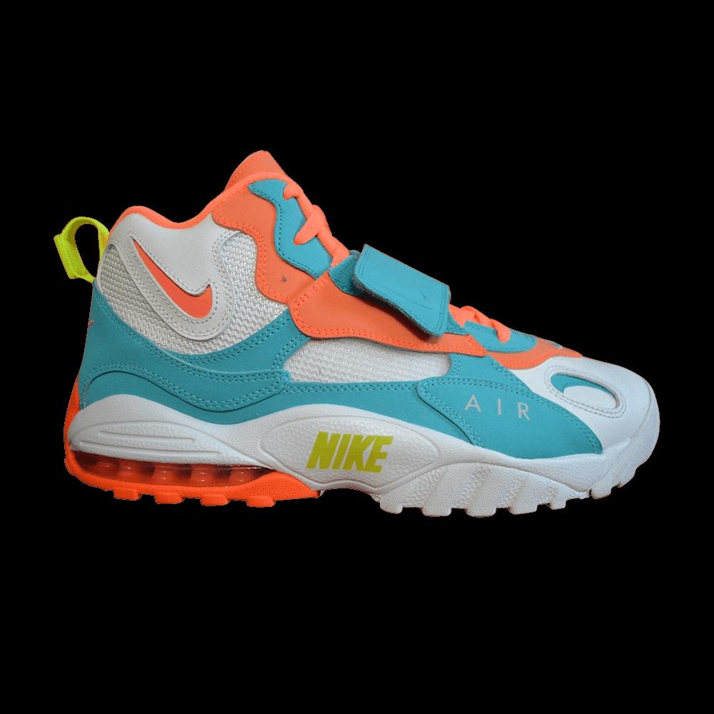 purchase cheap c7dd8 540b9 Air Max Speed Turf  Miami Dolphins  - Nike - 525225 102   GOAT