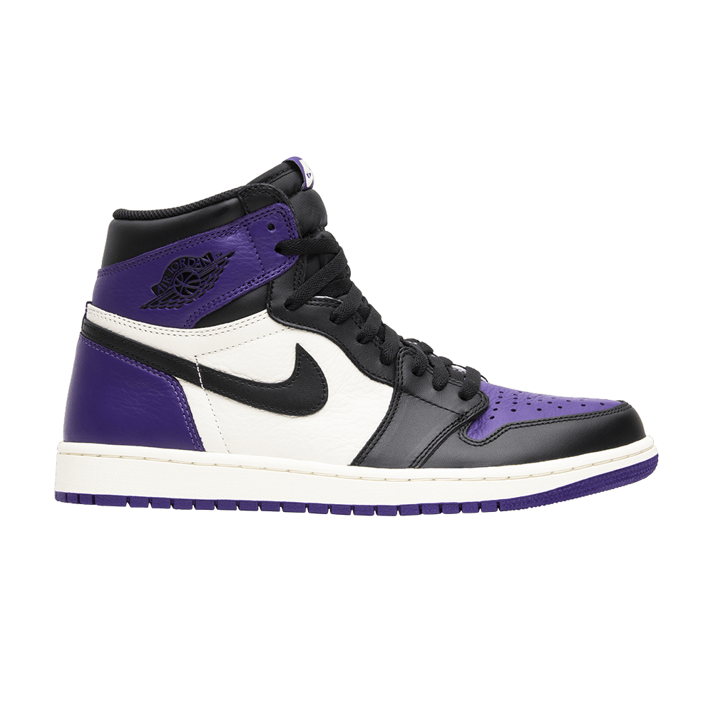e892556f53c Air Jordan 1 Retro High OG 'Court Purple' - Air Jordan - 555088 501   GOAT