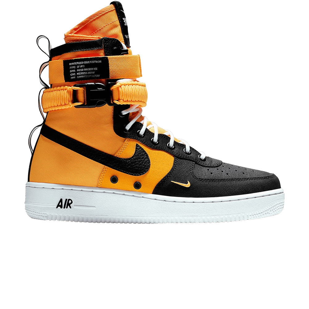 Nike SF Air Force 1 Hi Boot | Orange | Sneakers | AA1128 800