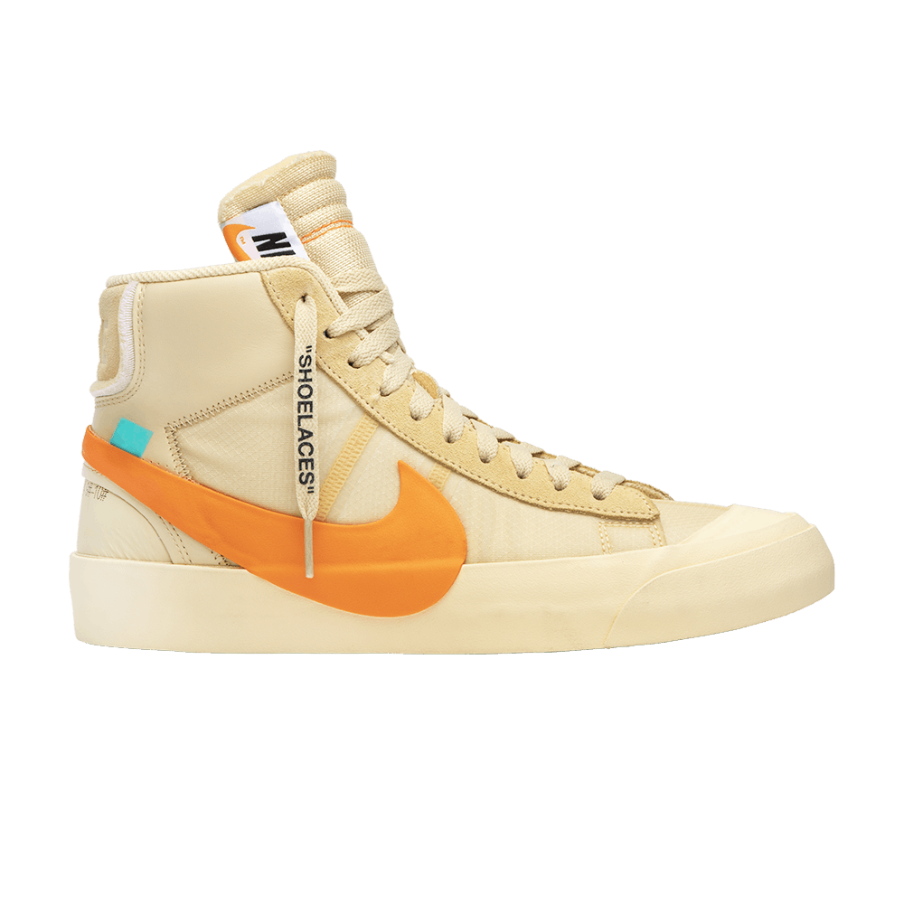 OFF-WHITE x Blazer Mid  All Hallows Eve  - Nike - AA3832 700  08dd7bb3b8da
