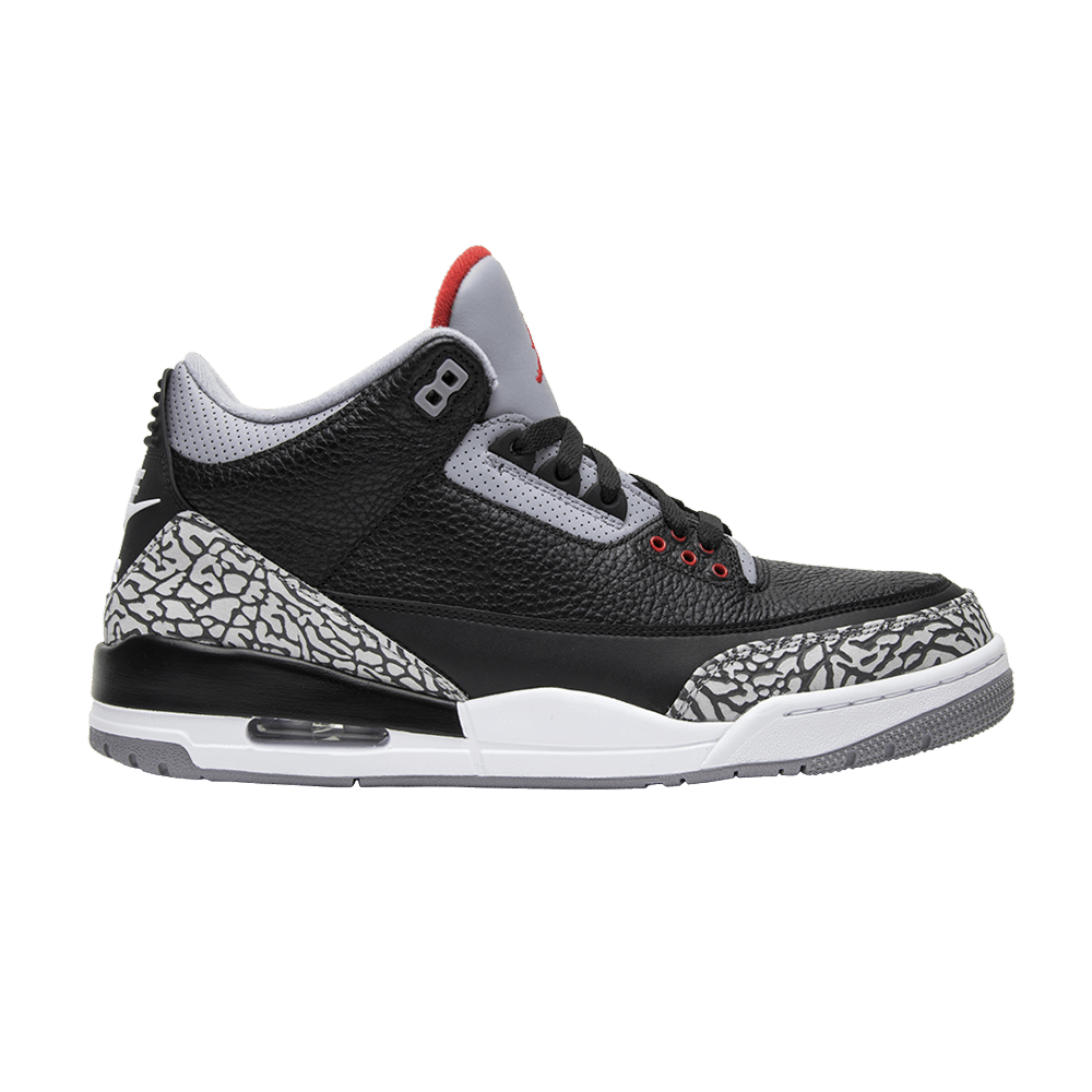 the best fresh styles details for Air Jordan 3 Retro OG 'Black Cement' 2018 - Air Jordan - 854262 ...